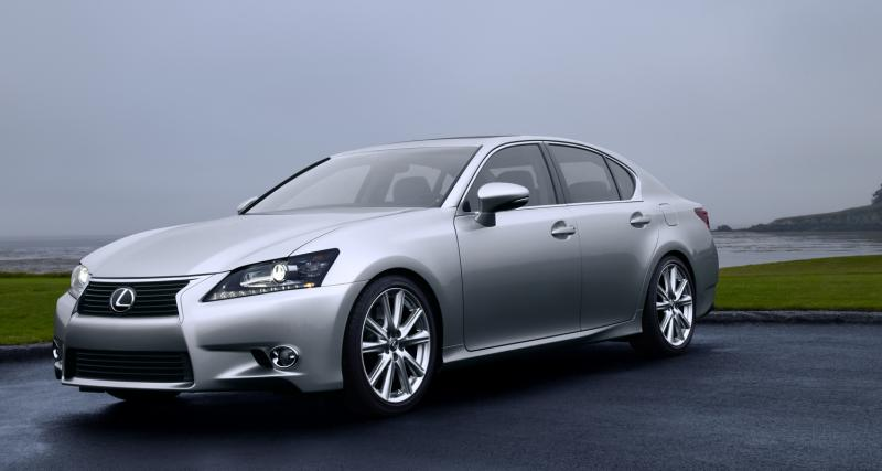 Nouvelle Lexus GS à Pebble beach