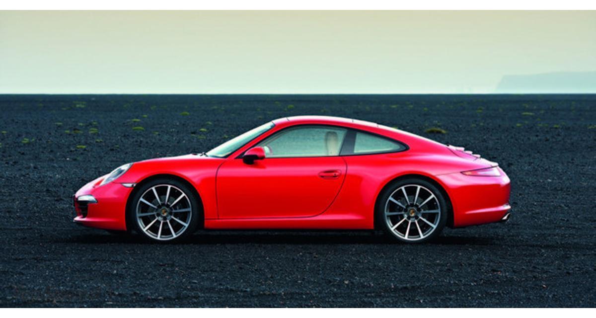 Porsche 911 2012 : les premières images