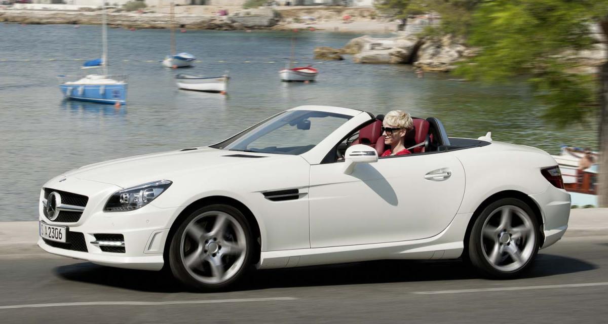 Mercedes SLK 250 CDI : ode au Diesel