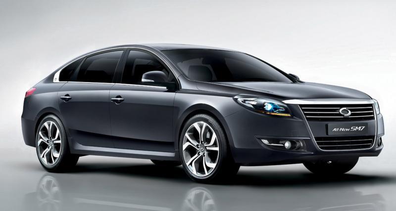 Renault Samsung SM7 : sous d'autres latitudes
