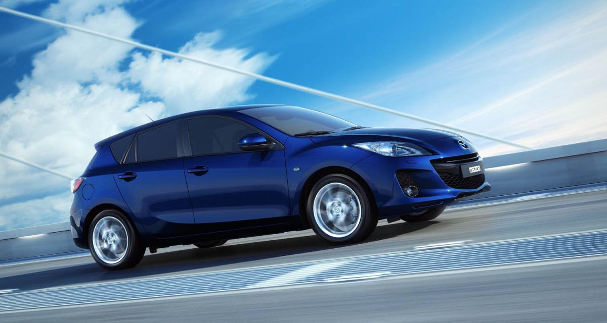 Francfort 2011 : Mazda3 restylée
