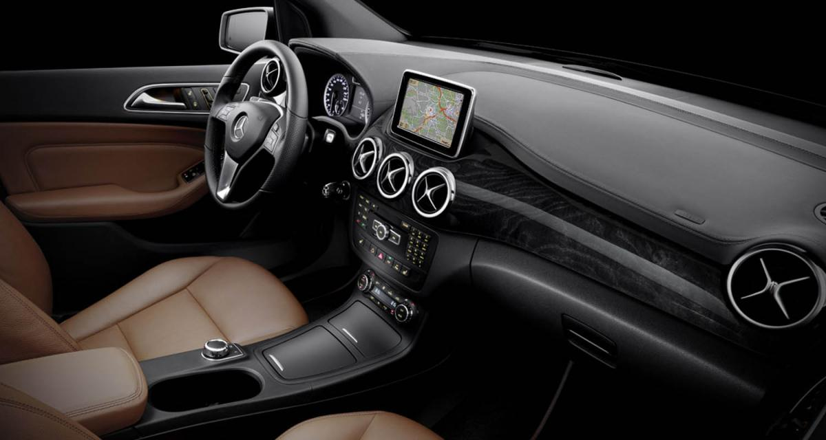 Mercedes classe b 2012 premi re visite l 39 int rieur for Interieur mercedes classe a