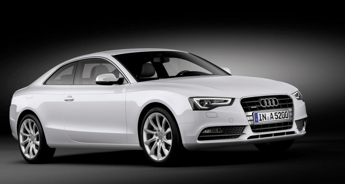 Francfort 2011 : Audi A5 et S5 restylées