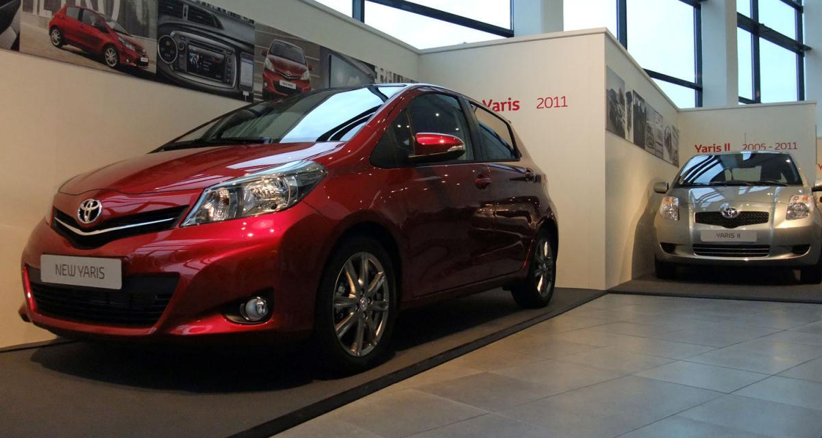 La Toyota Yaris 2012 dévoilée à Valenciennes