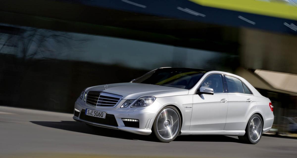 Mercedes E 63 AMG 2012 : nouveau coeur