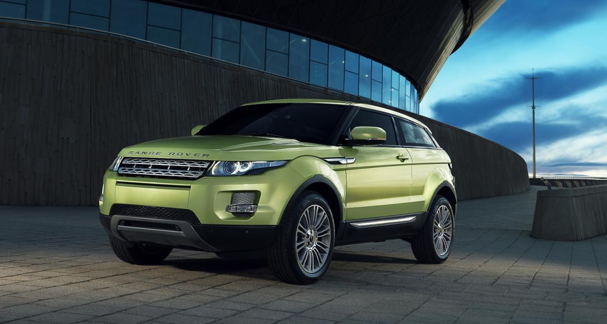 Range Rover Evoque : la production a démarré