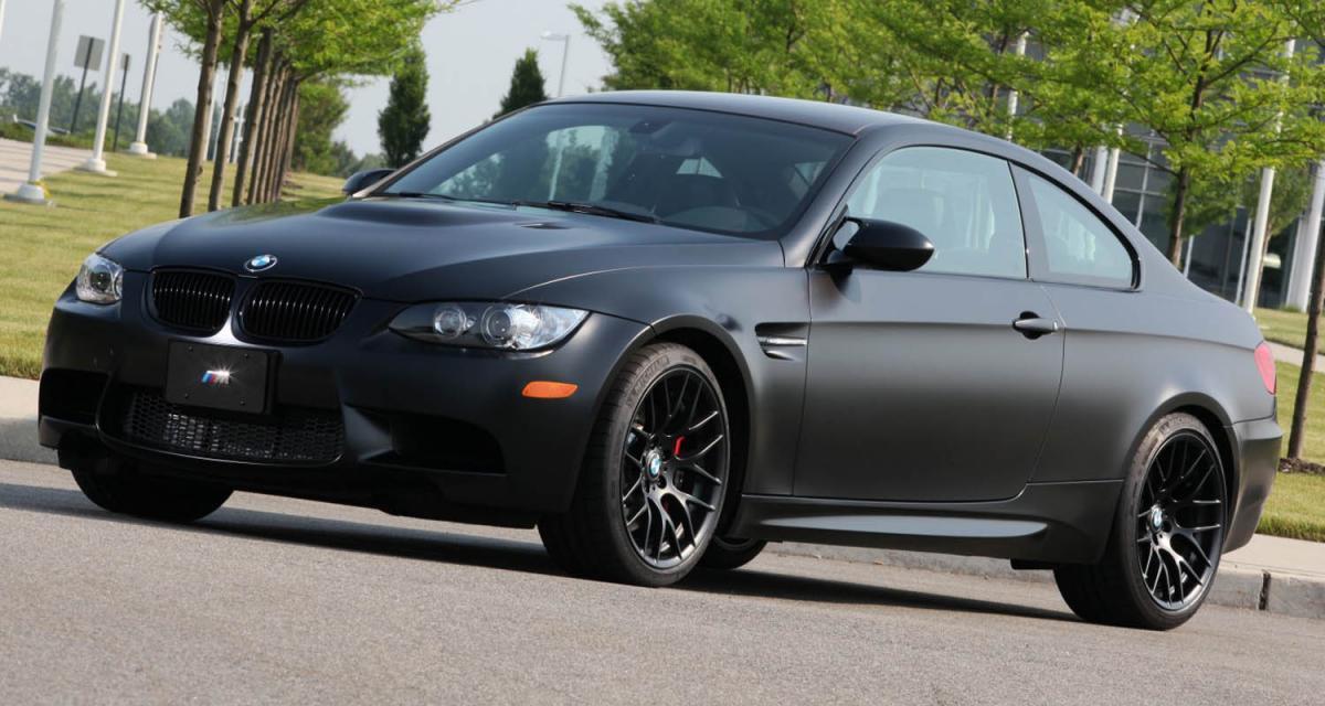BMW M3 Frozen Black Edition : loup, y es-tu ?