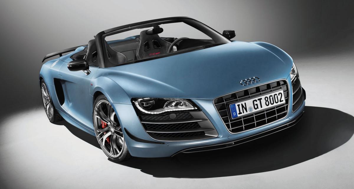 Audi R8 GT Spyder : série très limitée