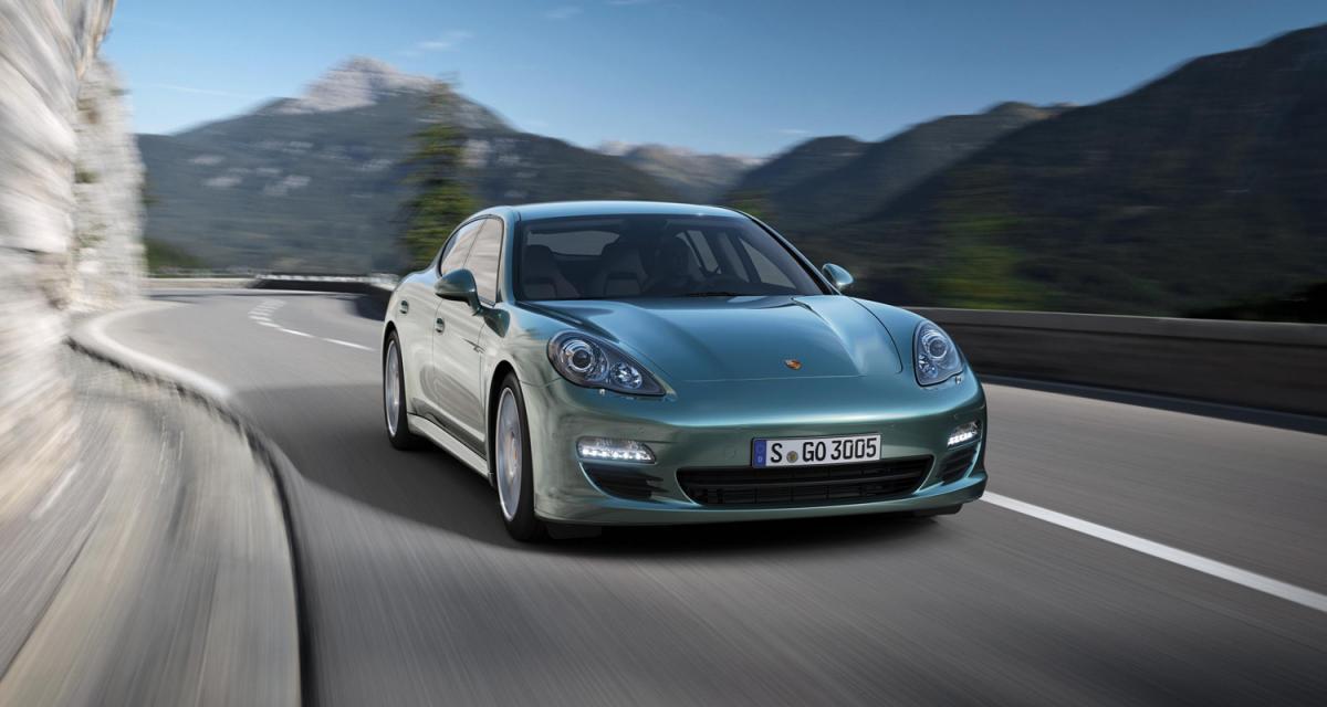 Porsche Panamera Diesel : un V6 de 250 ch