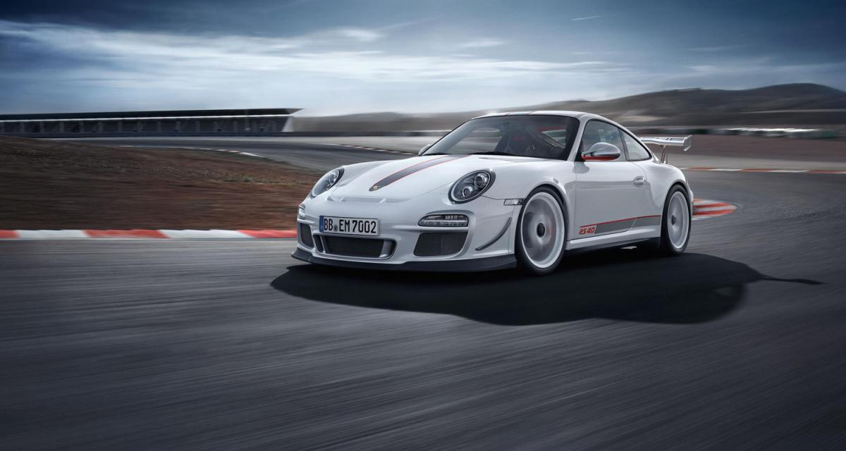 Porsche 911 GT3 RS 4.0 : la catapulte