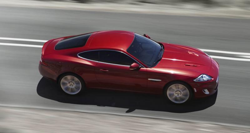 New York 2011 : Jaguar XKR restylée