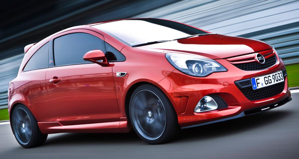 Opel Corsa OPC Nürburgring Edition : s'ouvrir au circuit