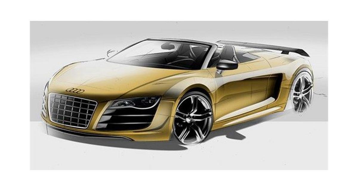 Audi R8 V10 GT Spyder : ça va décoiffer