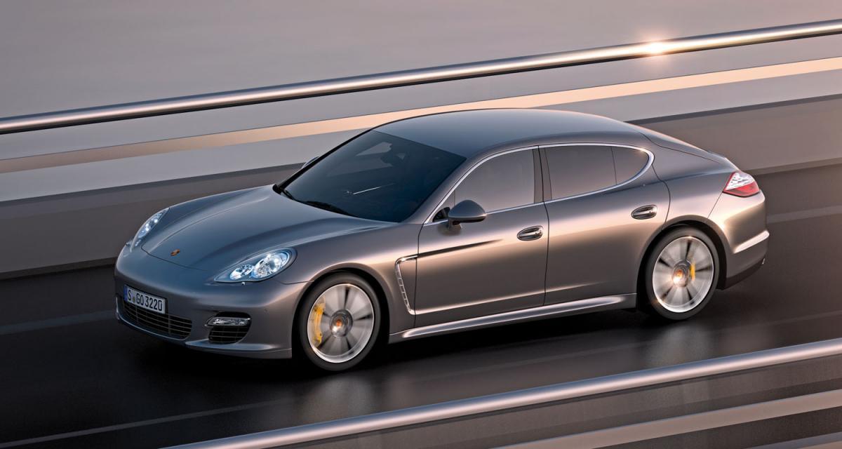 Porsche Panamera Turbo S : des chevaux en pagaille