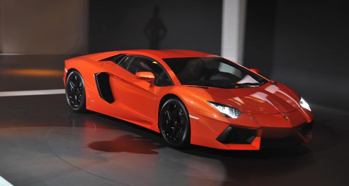 Lamborghini Aventador : toutes vendues !