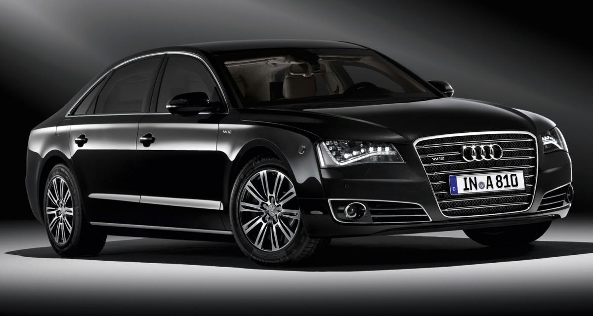 Audi A8 L Security : anneaux pare-balles
