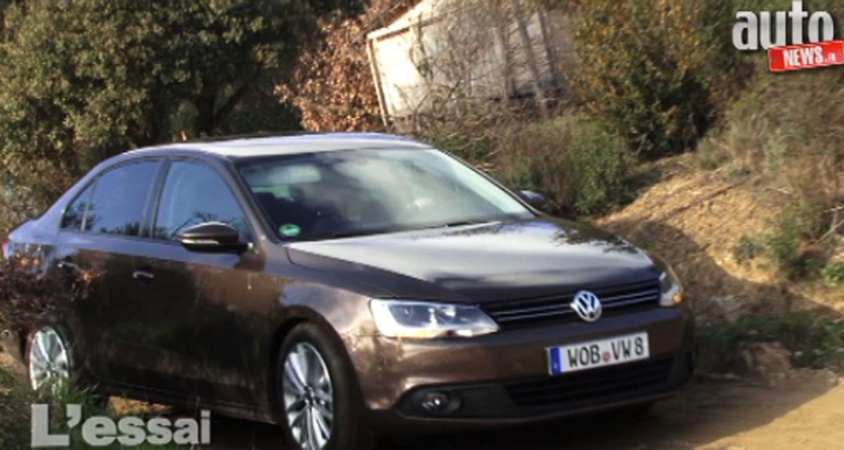 Essai vidéo de la Volkswagen Jetta