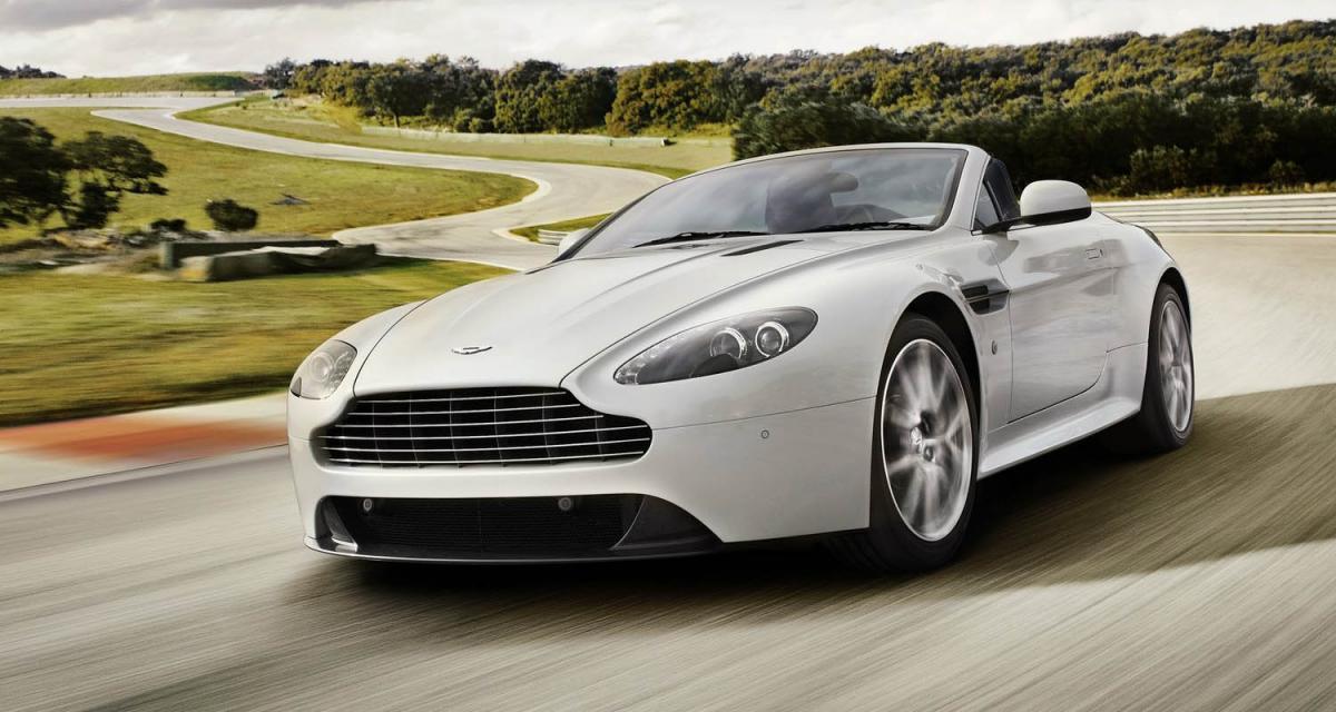 Aston Martin V8 Vantage S : affûtée