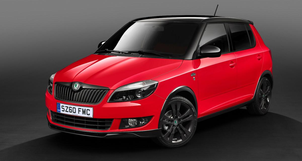 skoda fabia monte carlo le plumage sans le ramage. Black Bedroom Furniture Sets. Home Design Ideas