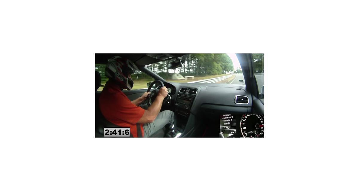 Vidéo Auto Moto : la Polo GTI à Montlhéry