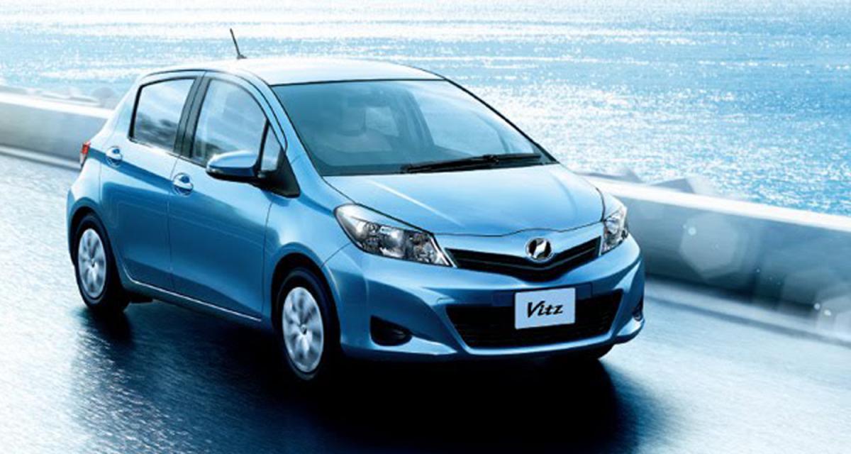 La Toyota Yaris en approche