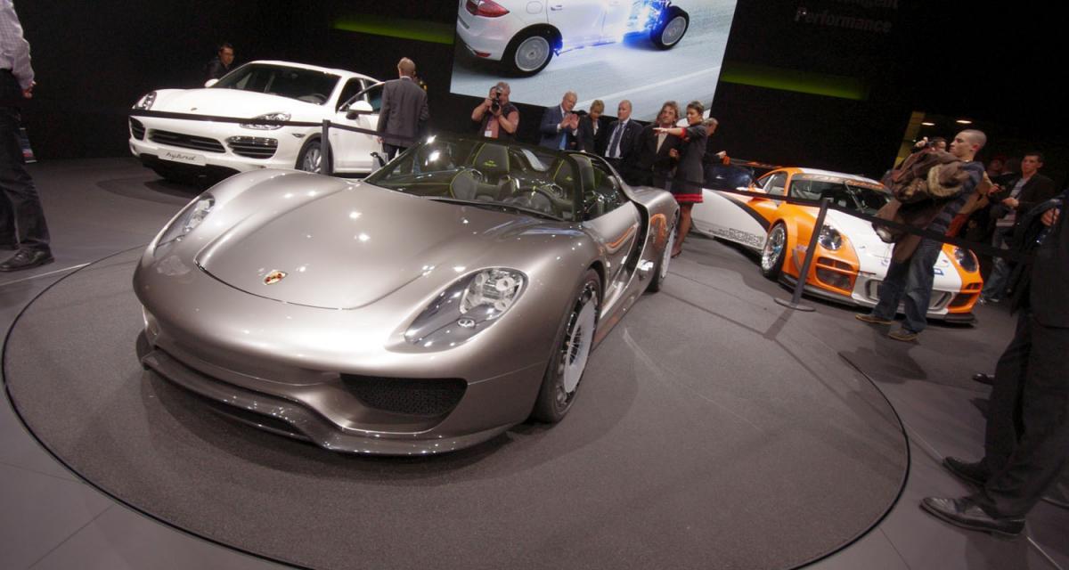 Porsche : du nouveau à Detroit