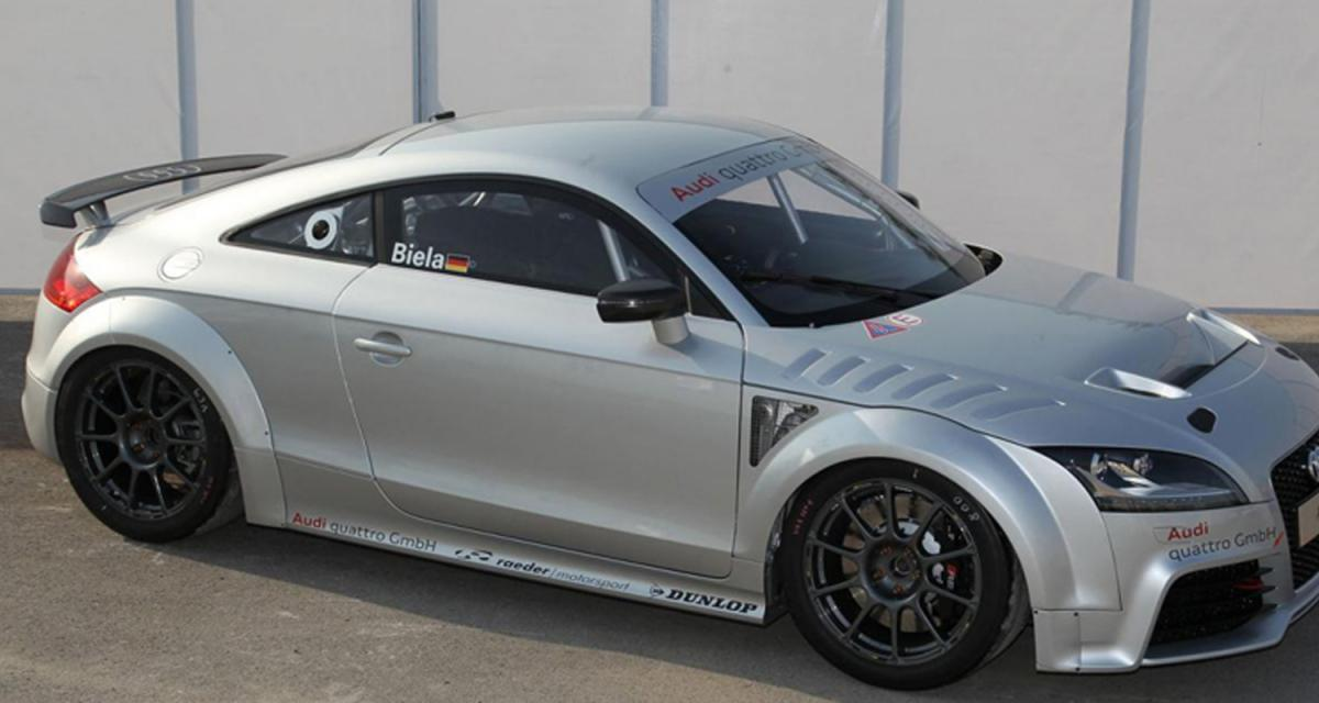 Audi GT4 Concept : un TT de compétition