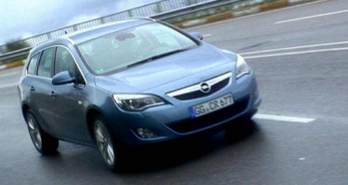 Essai de l'Opel Astra Sports Tourer en vidéo