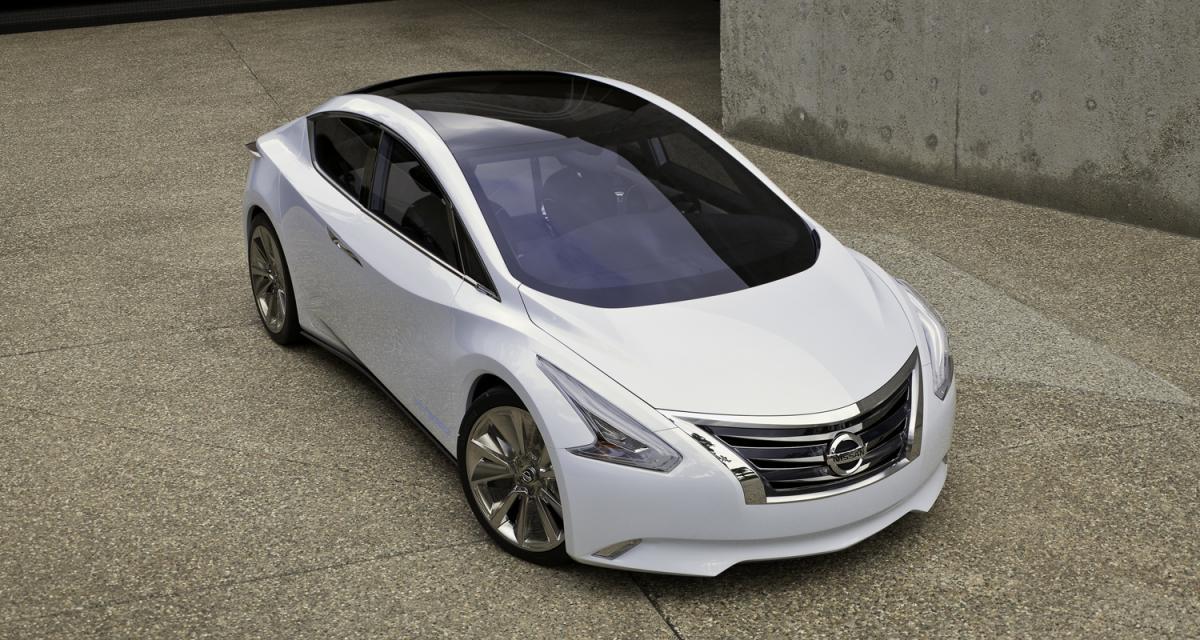 Los Angeles 2010 : Nissan Ellure Concept