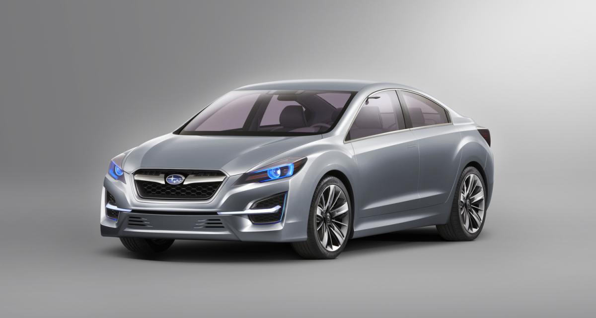 Los Angeles 2010 : Subaru Impreza Concept