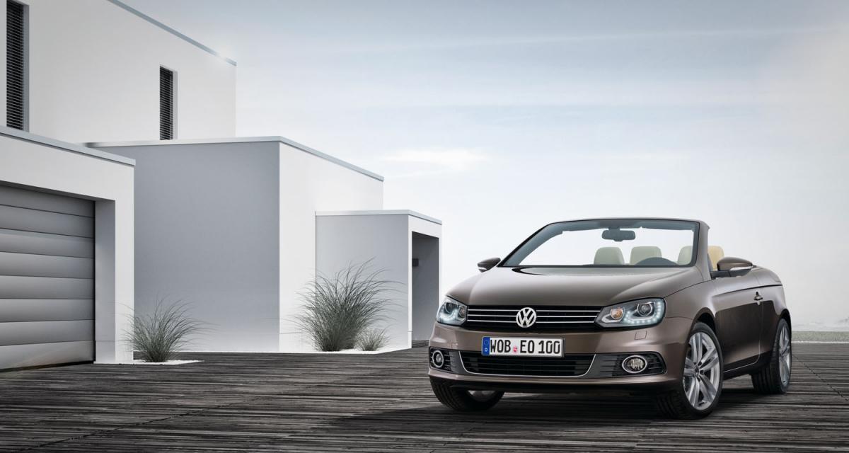 Volkswagen Eos restylée, comme les autres