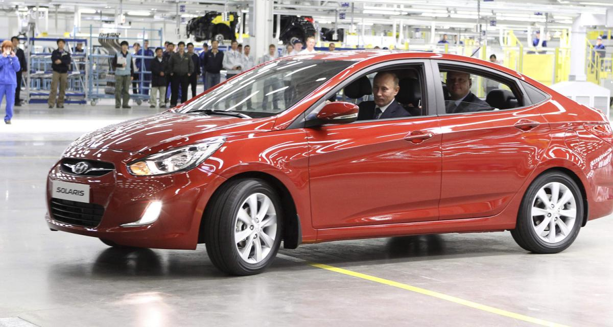 Hyundai Solaris : évolution russe