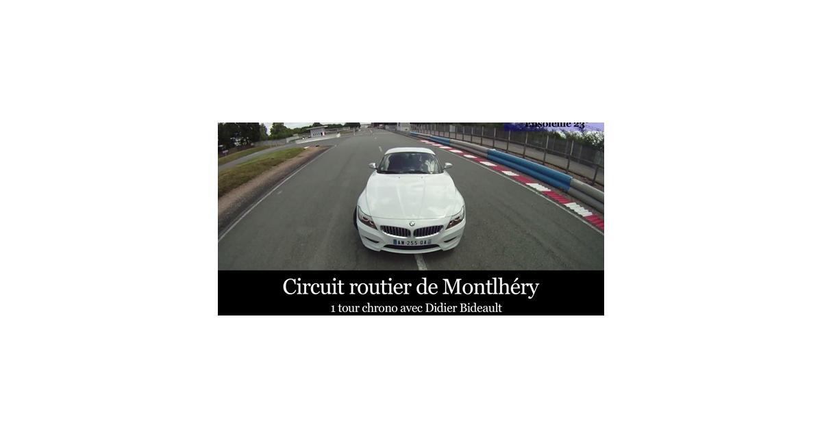 Vidéo Auto Moto : un tour de circuit en BMW Z4 35iS