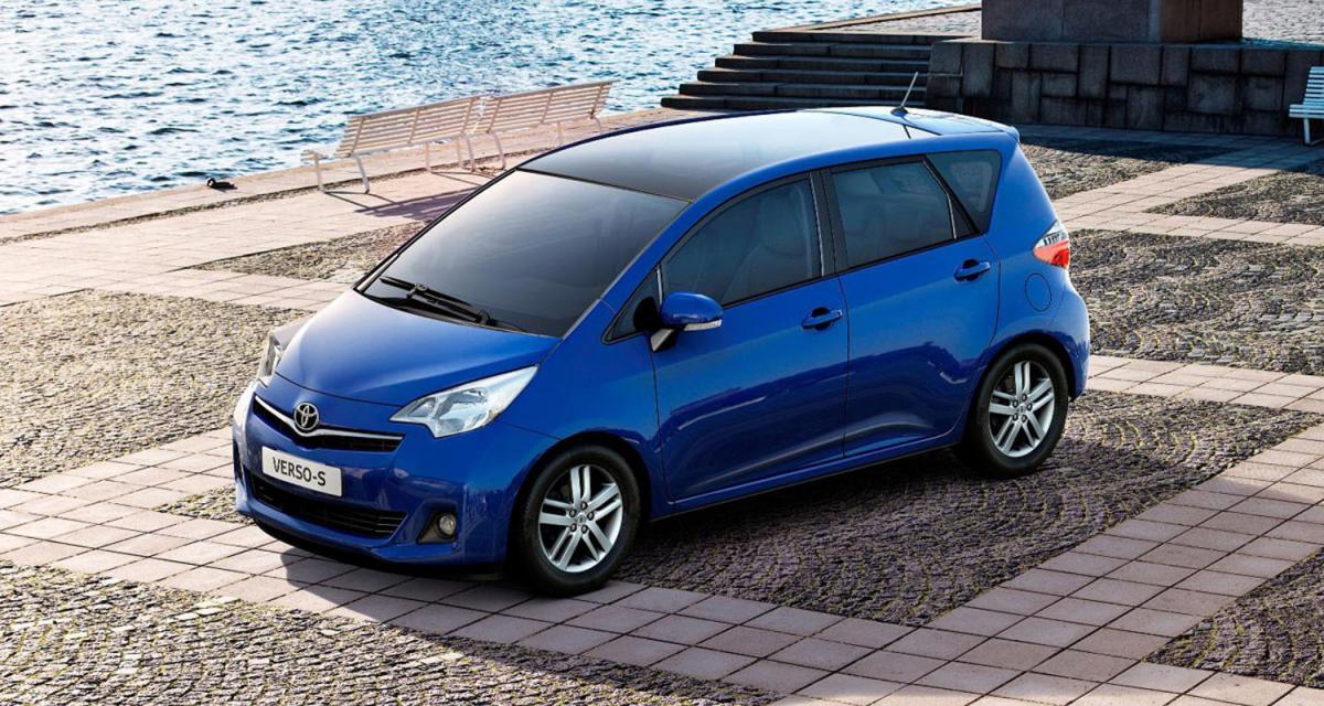 Mondial de l'Automobile de Paris 2010 : Toyota Verso S