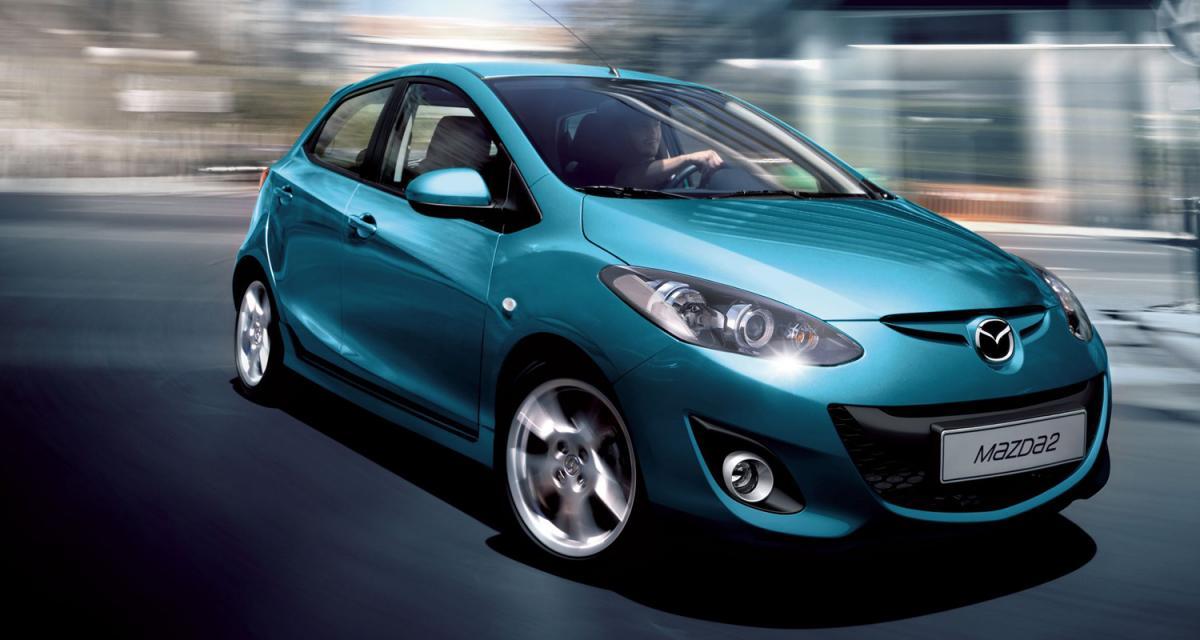 Mondial de l'Automobile 2010 : Mazda2 restylée