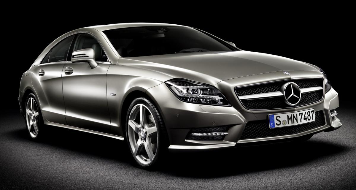 Mondial de l'Automobile 2010 : Mercedes CLS