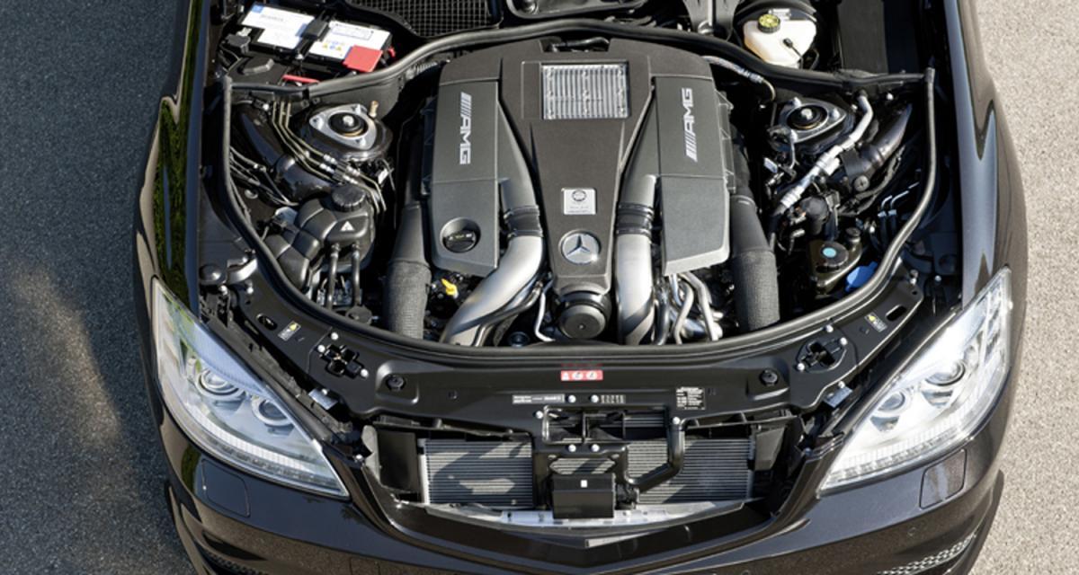 Mercedes S 63 AMG 2011 : (plus) petit mais (encore plus) costaud