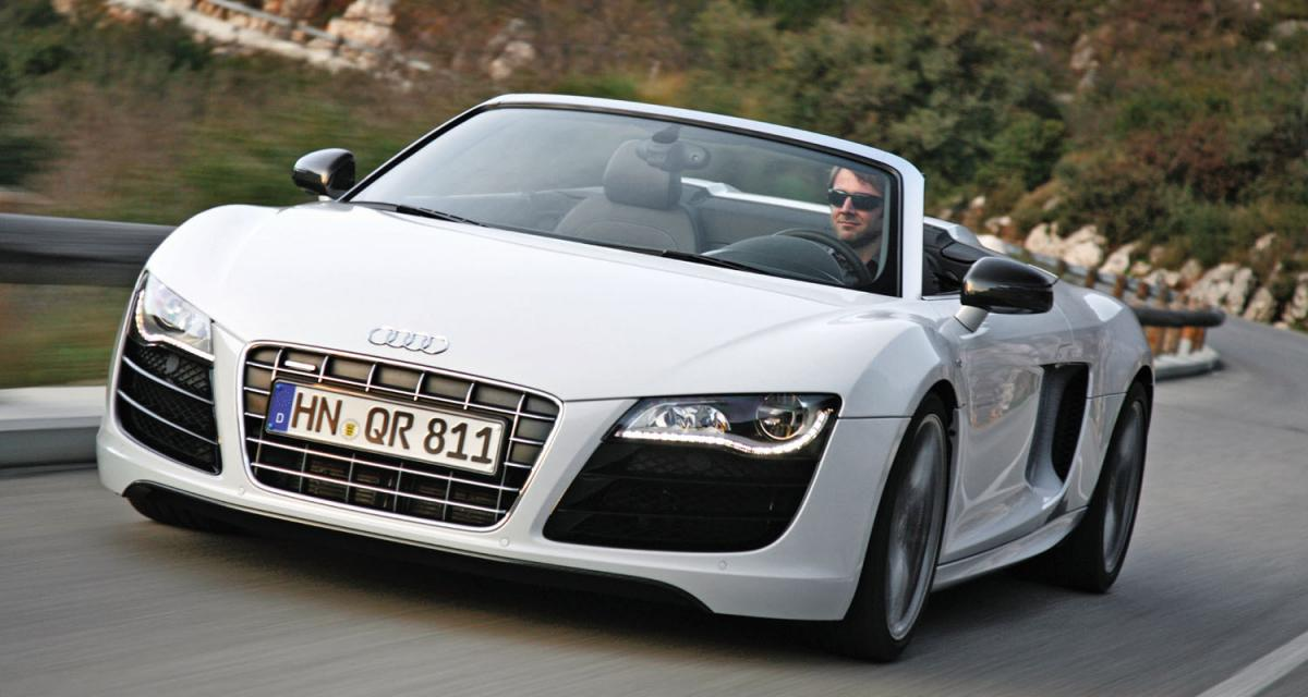 Audi R8 Spyder : notre essai vidéo