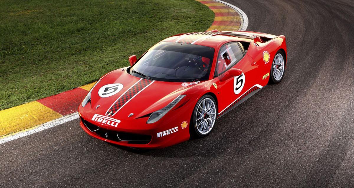 Ferrari 458 Challenge : de la route à la piste