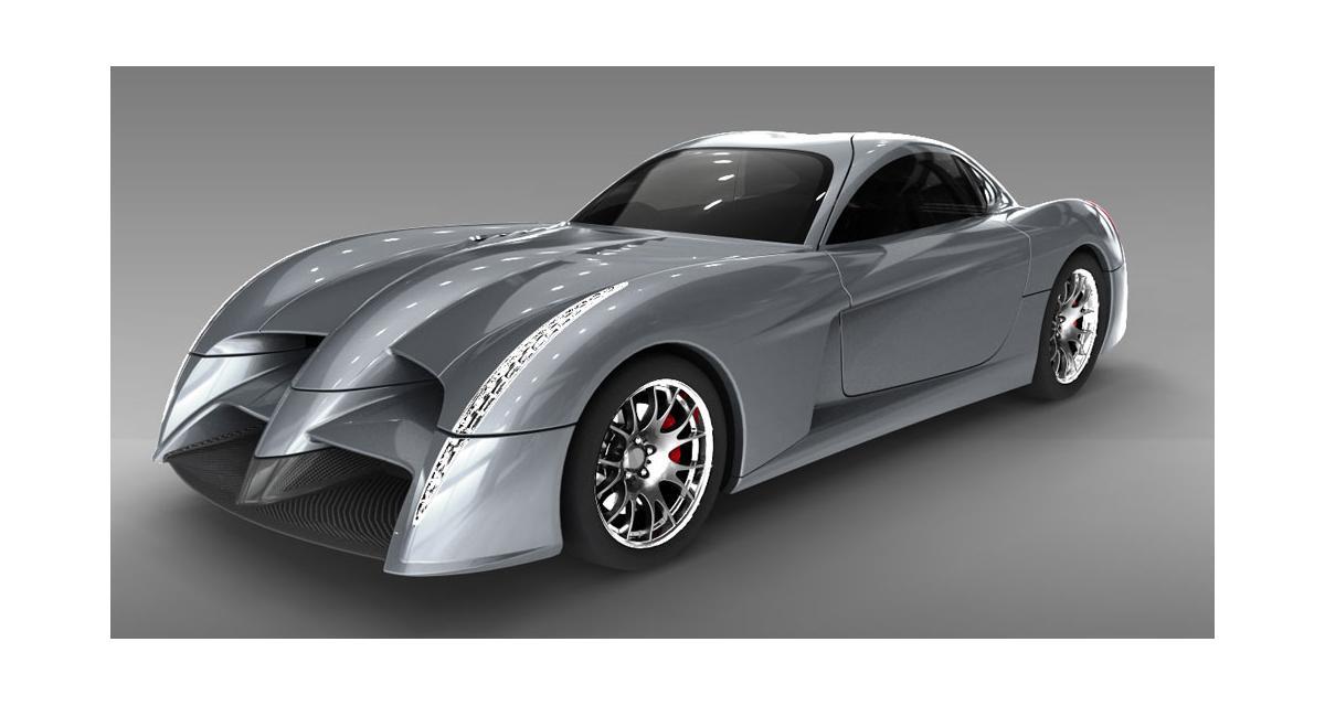 Panoz Abruzzi : la Batmobile au Mans