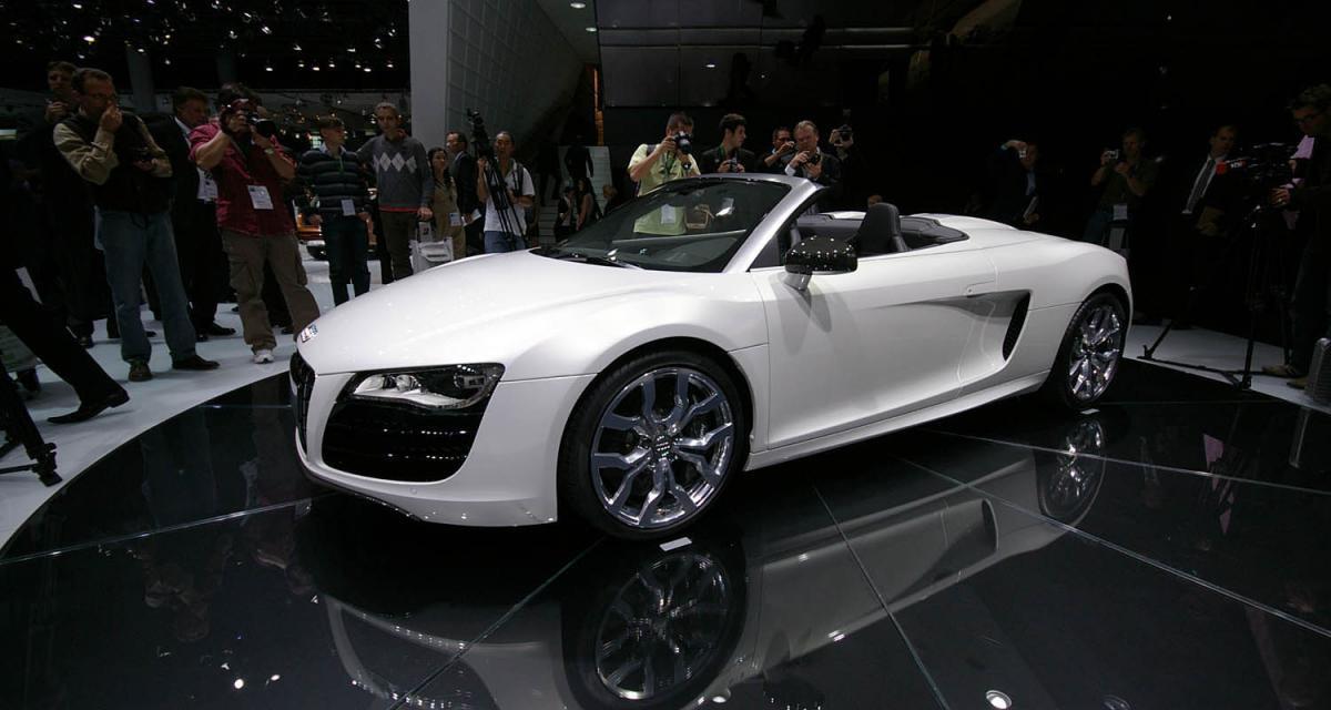 Audi R8 V8 Spyder : au vent moins mauvais