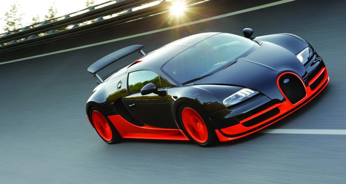 Bugatti Veyron SuperSport : EB toute puissante