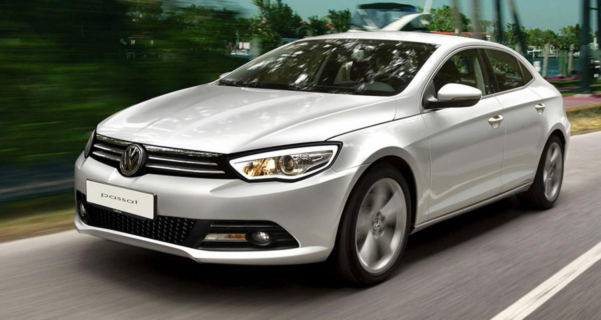 Illustrations : Volkswagen Passat 2011