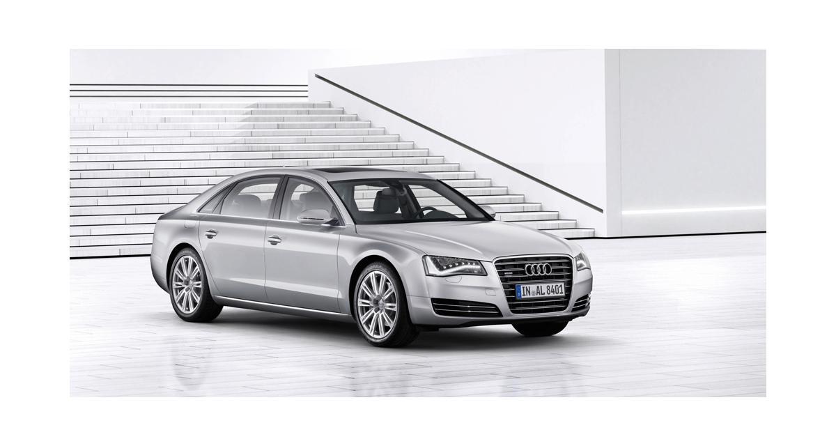 Audi A8 L : toujours plus