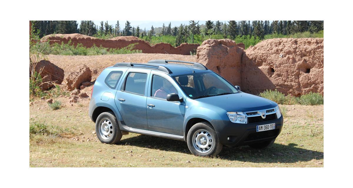 Dacia Duster : un départ sur les chapeaux de roues