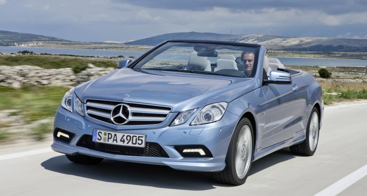 Essai vidéo : Mercedes Classe E Cabriolet