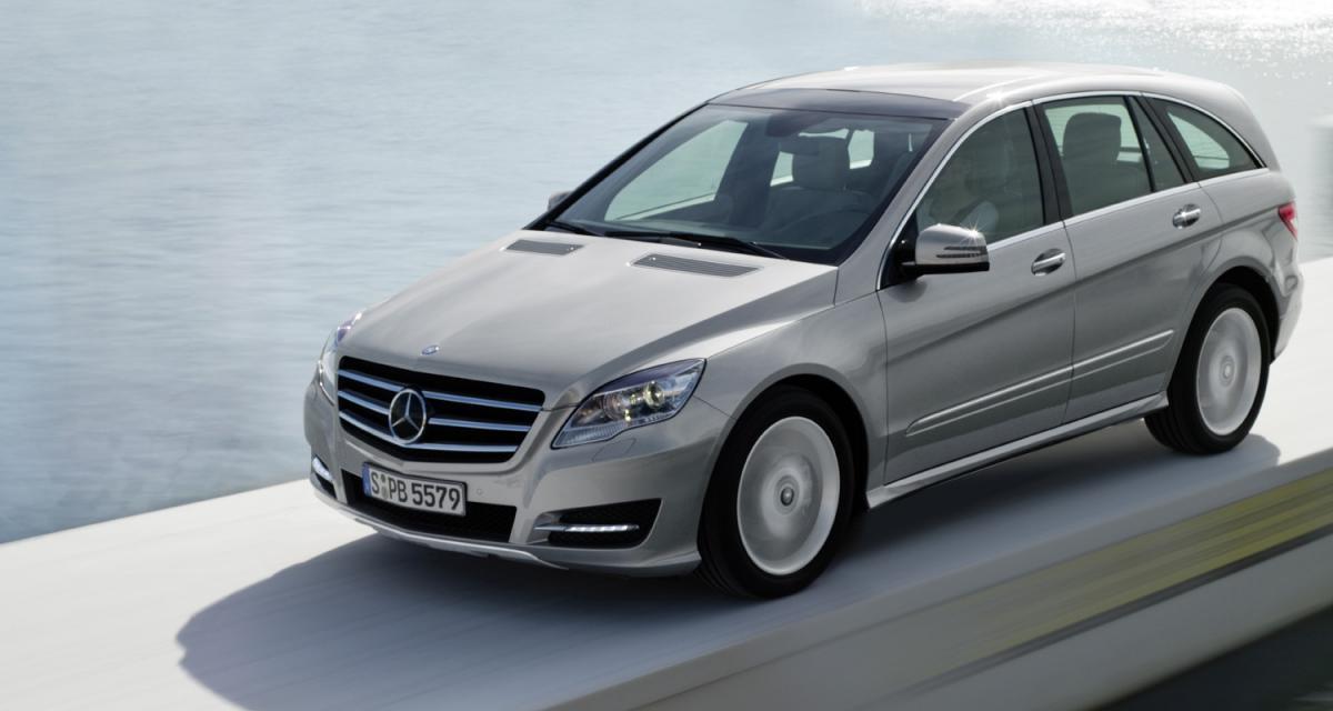 Salon de New York : Mercedes Classe R