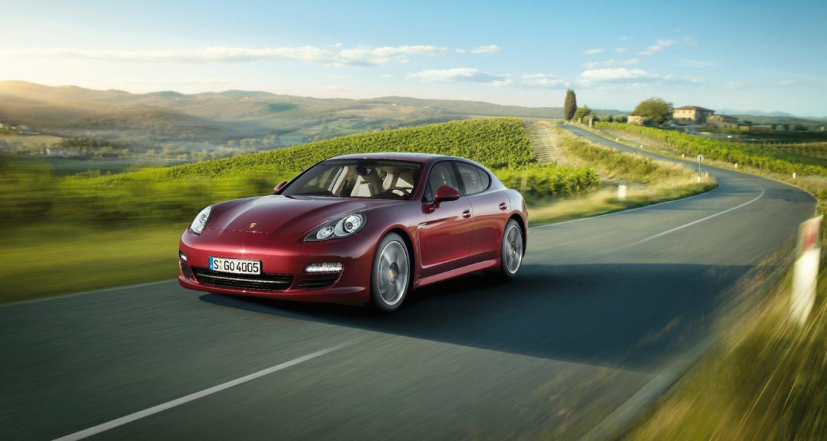 La Porsche Panamera descend en gamme