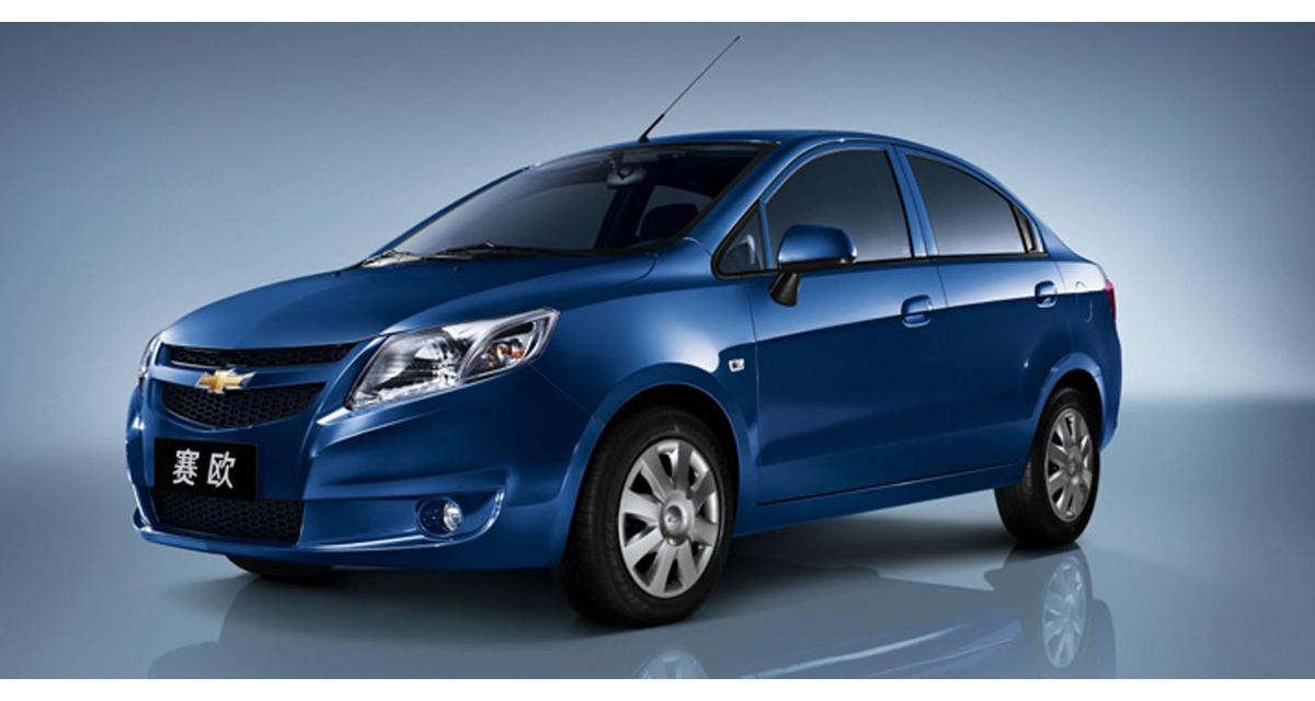 Chevrolet New Sail : l'ambitieuse sino-américaine