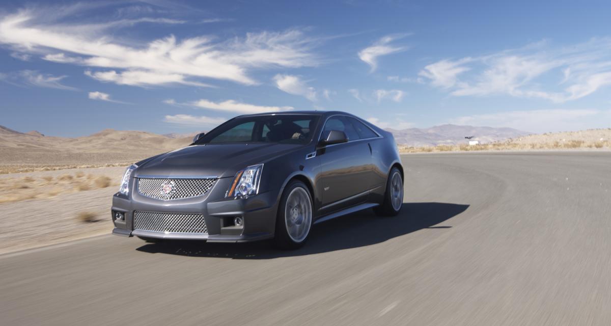 Detroit 2010 : Cadillac CTS-V Coupe